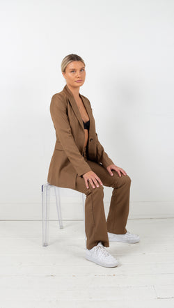 Third Form formalities suit jacket camel