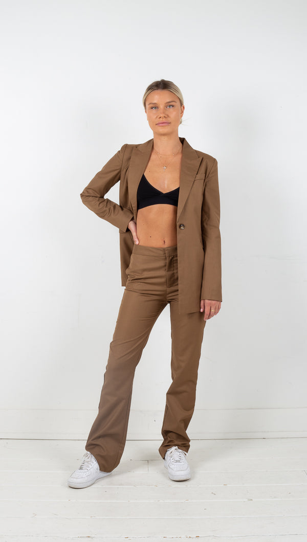 Third Form Formalities Trouser Camel
