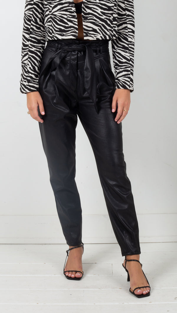 Dillon High Waist Pant - Black