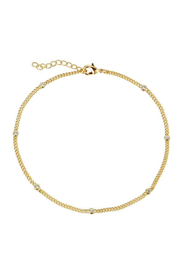 SM Daisy Link Anklet