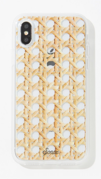 Sonix Rattan iPhone Case