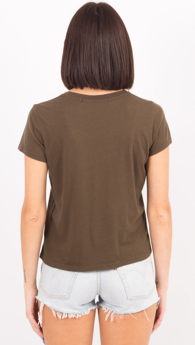The Baby Tee - Olive