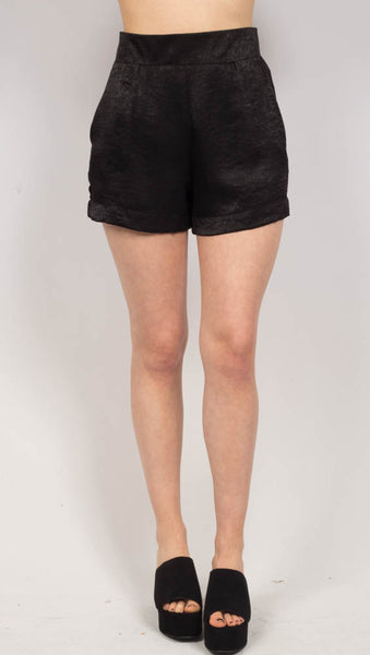 The Olsen Shorty - Black