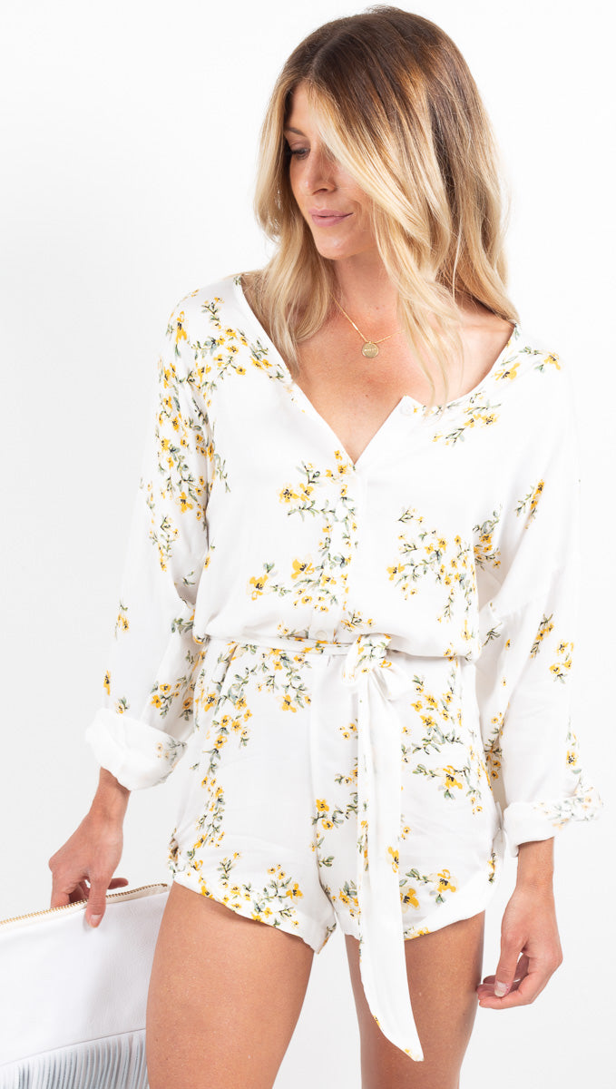 Cote D' Azure Romper - Just Friends