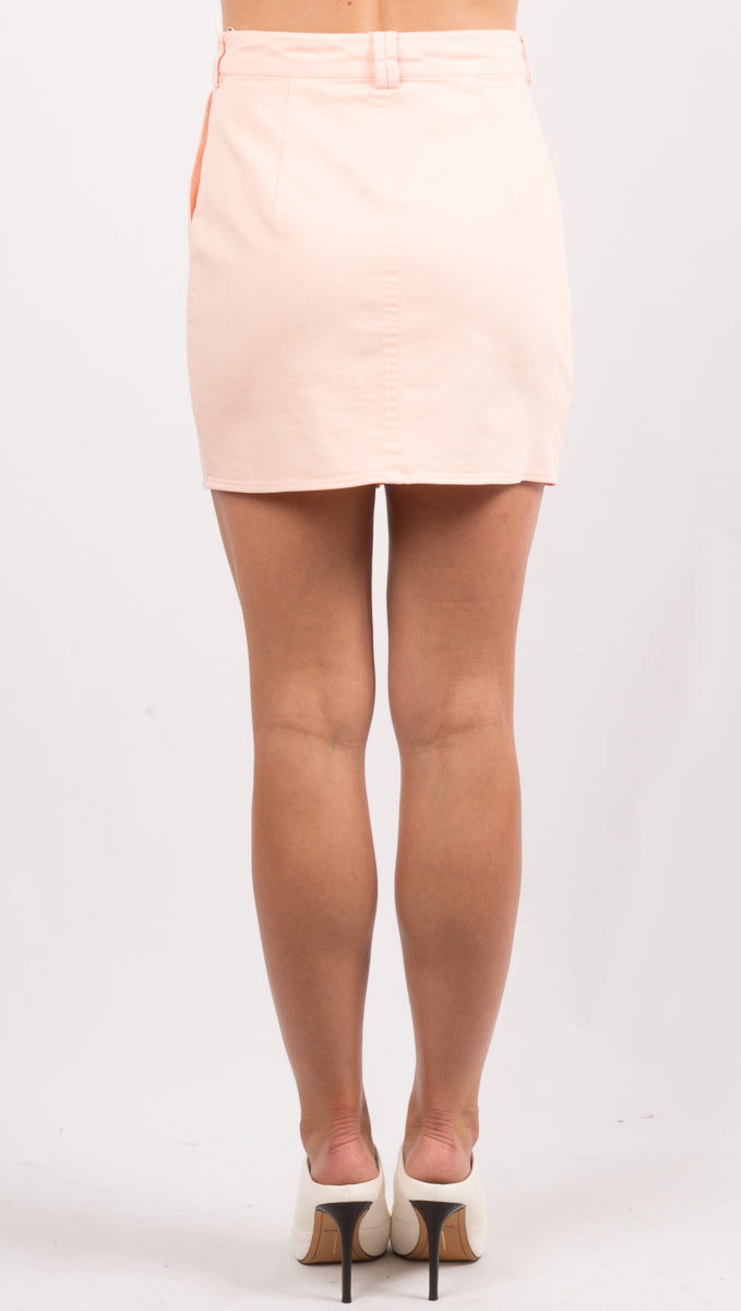Niki Skirt - Blush