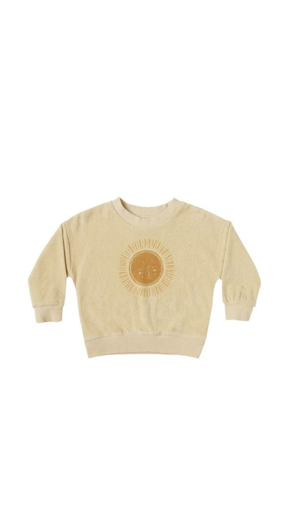 Terry Crewneck Sun - Butter