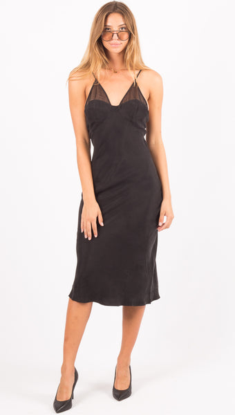 Revolution Slip Dress - Black