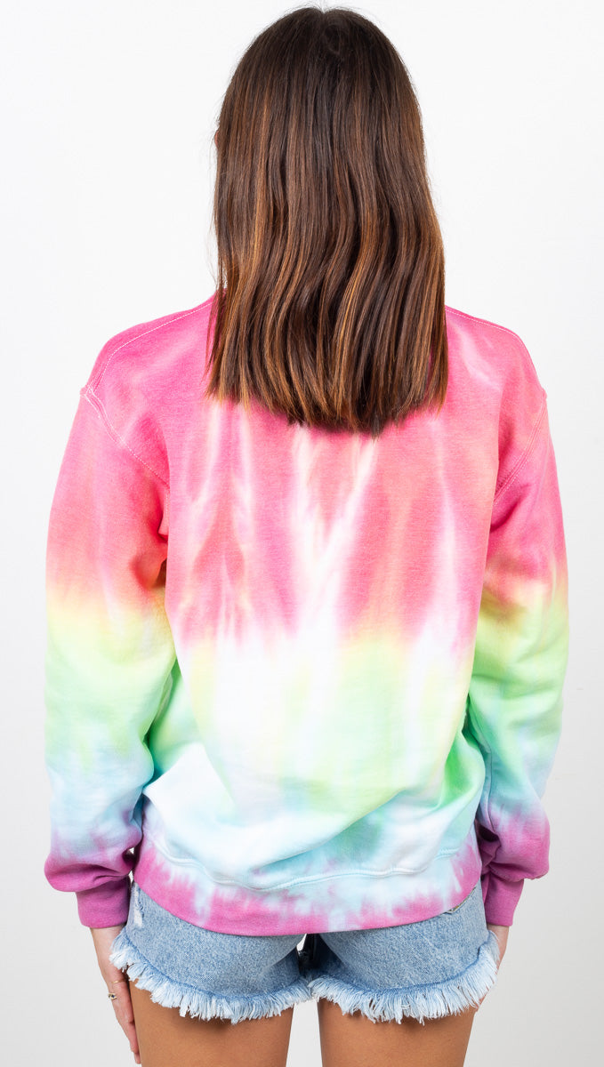 Love Will Not Be Cancelled Sweatshirt - Rainbow Brite