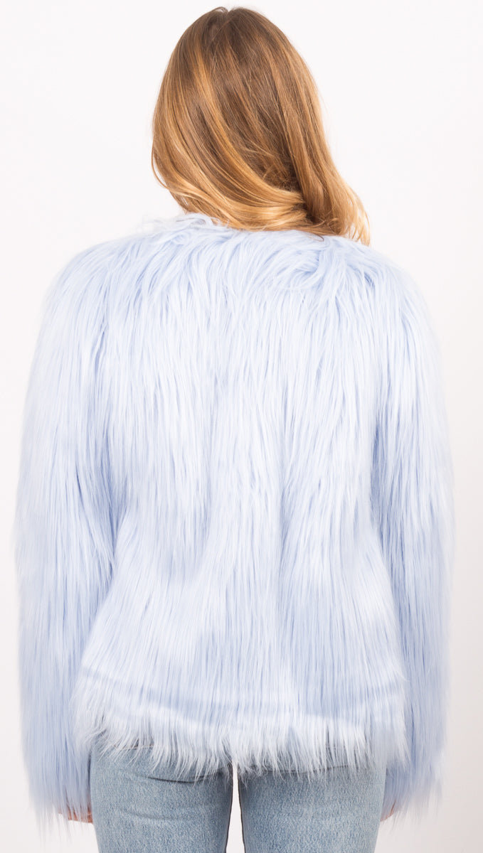 Unreal Dream Jacket - Pastel Blue