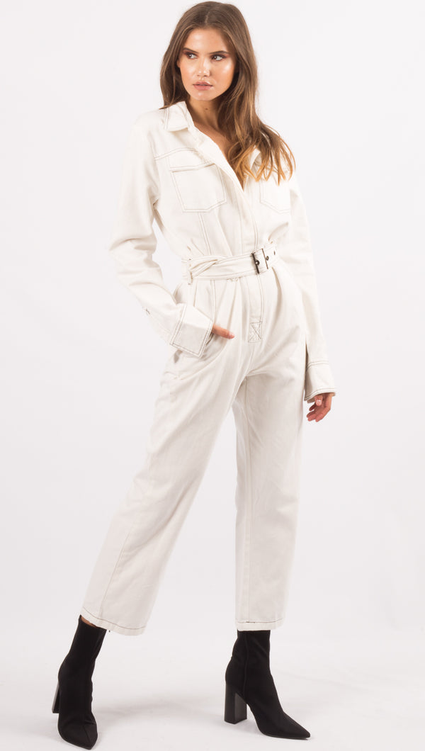 Emily Jumpsuit - Off White