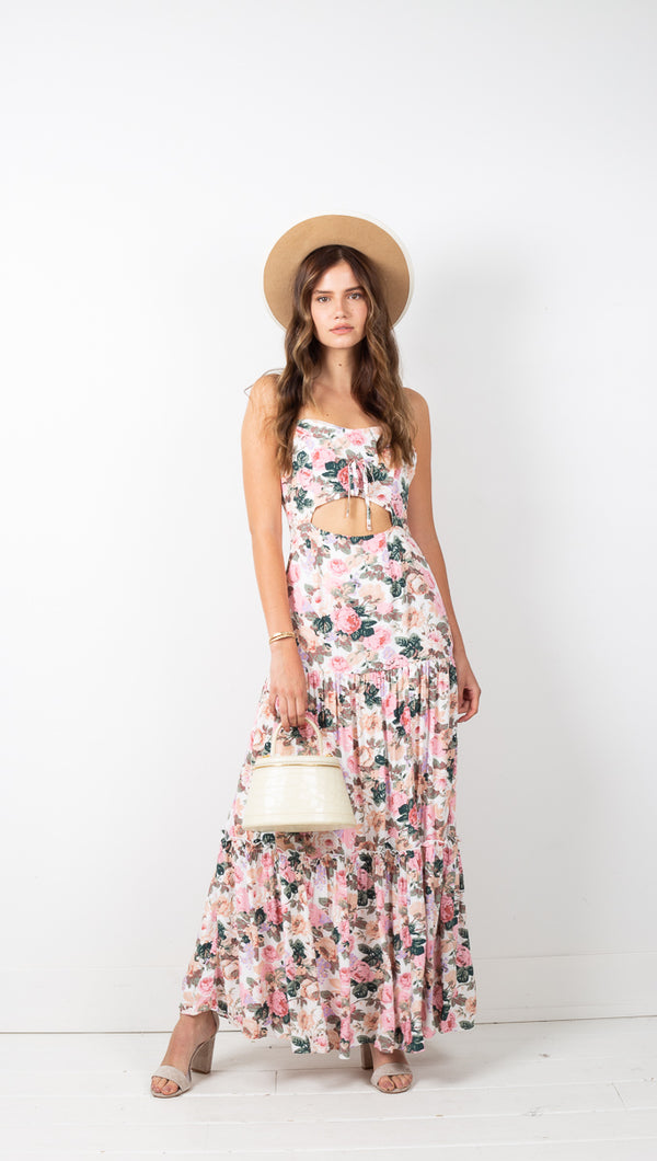 Lucia Maxi Dress - Floral