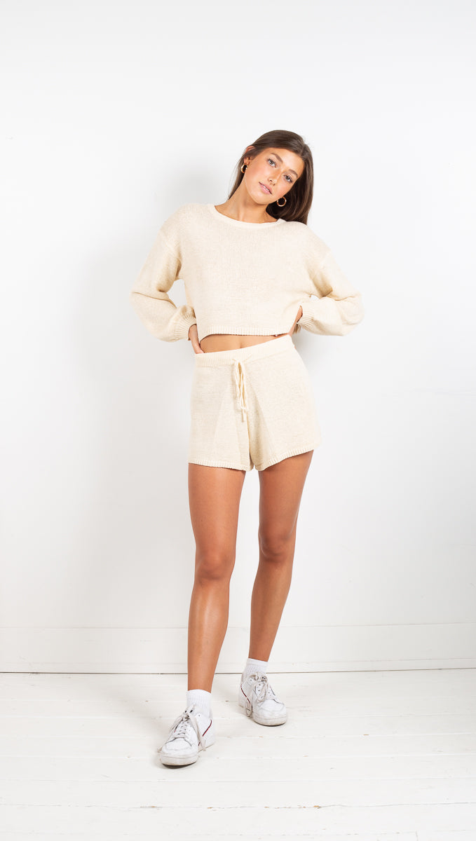 Autumn Daze 2-Piece Set - Cream