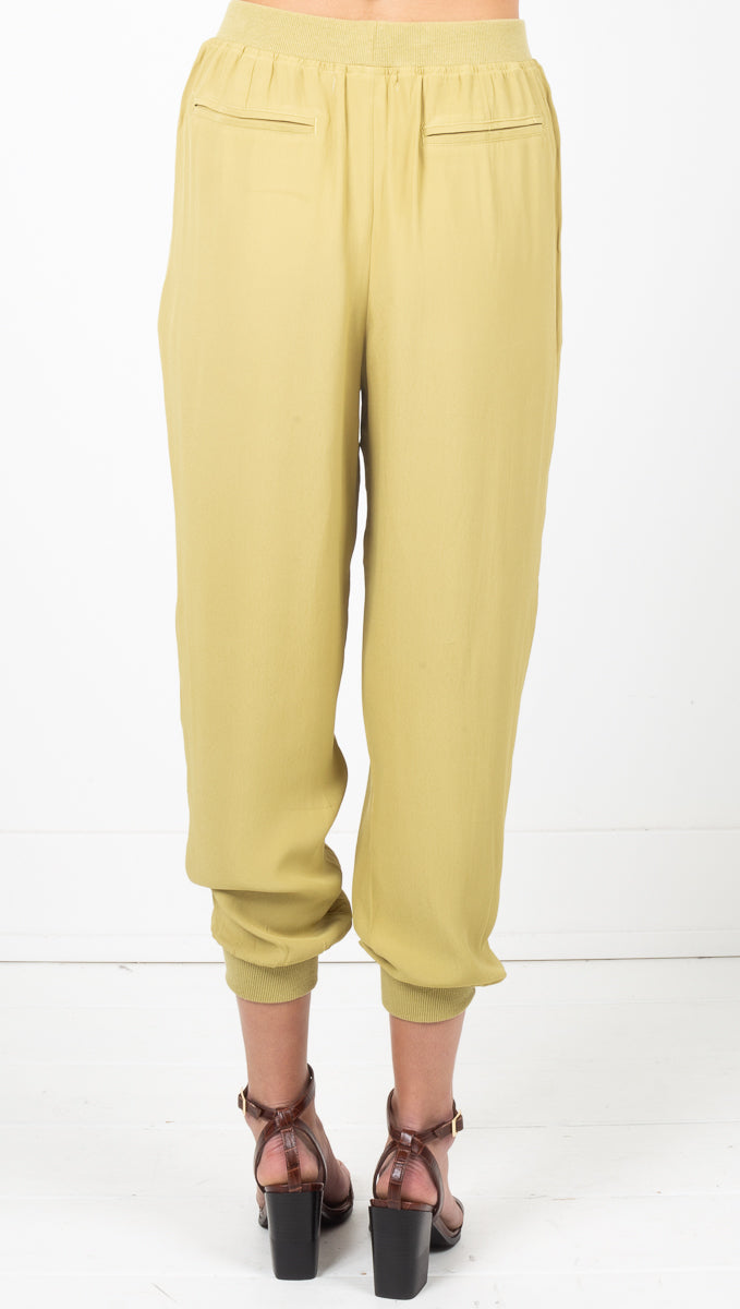 Kate Jogger Pants - Avocado