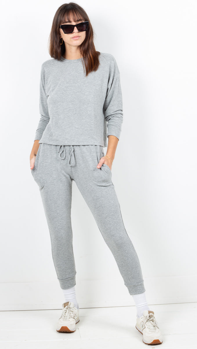 Off Duty Sweatpants - Heather Grey