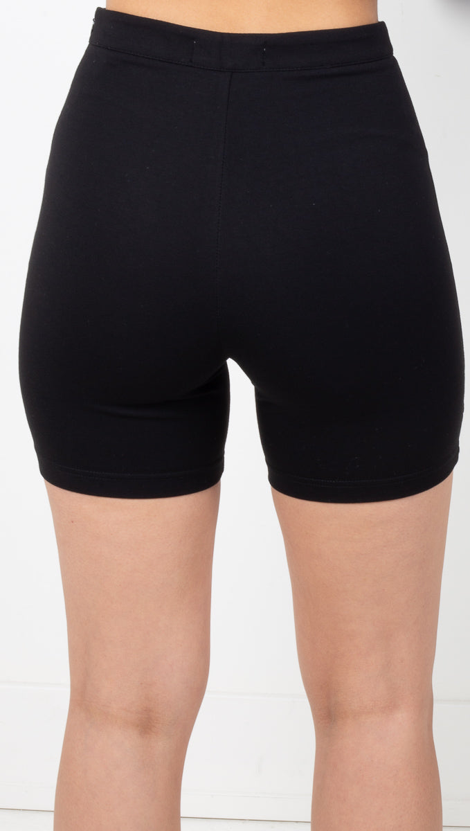 Chicago Biker Shorts - Black
