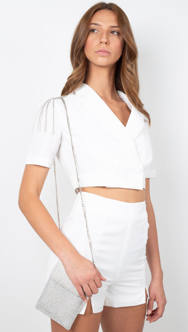 Kira Blazer Set - Off White