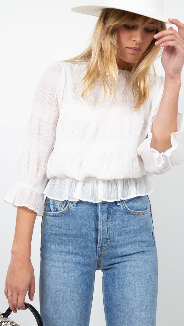 Sofie Blouse - Off White