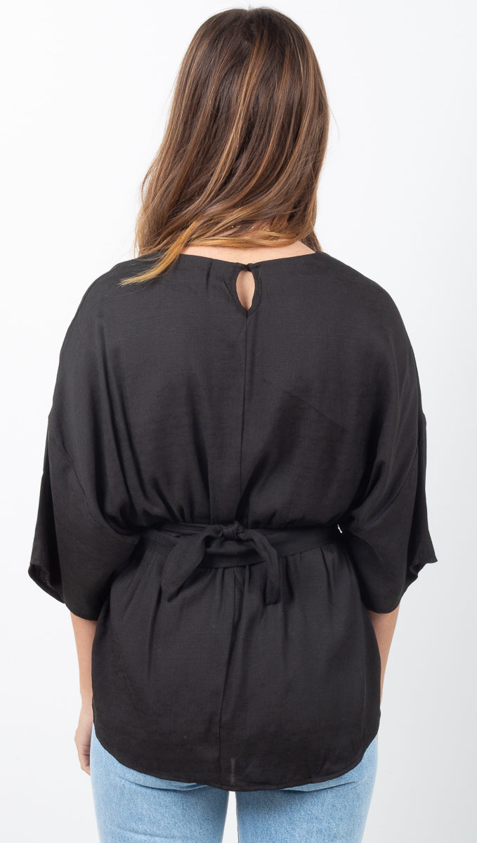Lana Blouse - Black