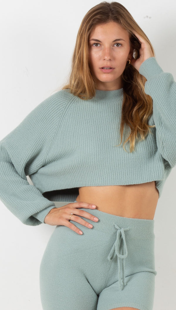 Laurel Sweater - Moss