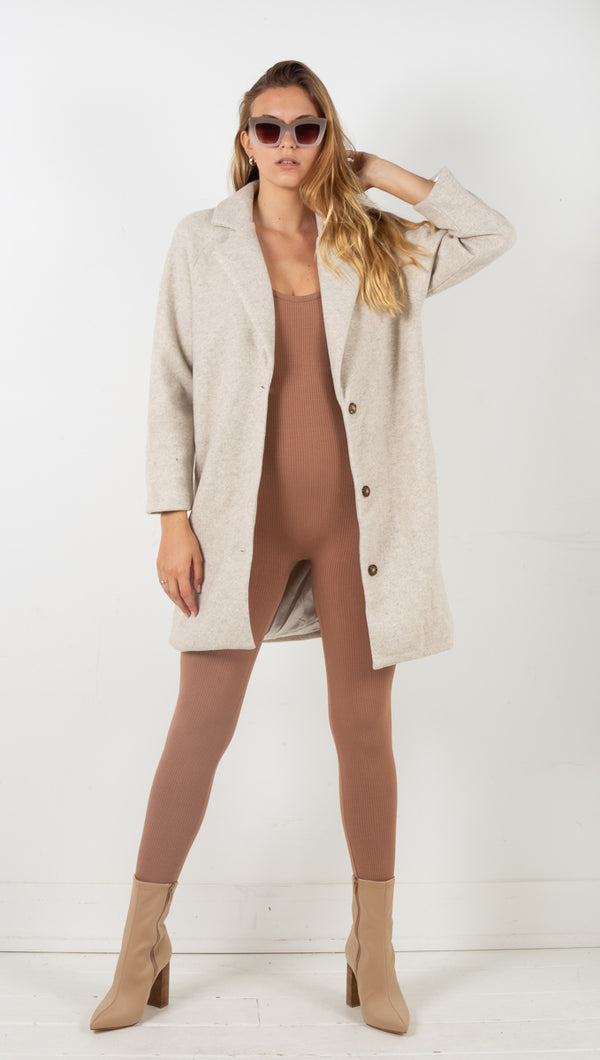 Hailey Coat - Beige