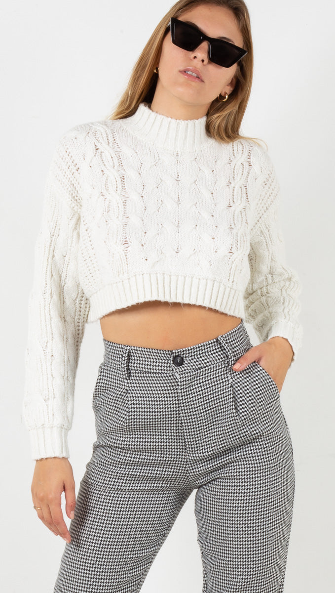 Roxy Sweater - Cream