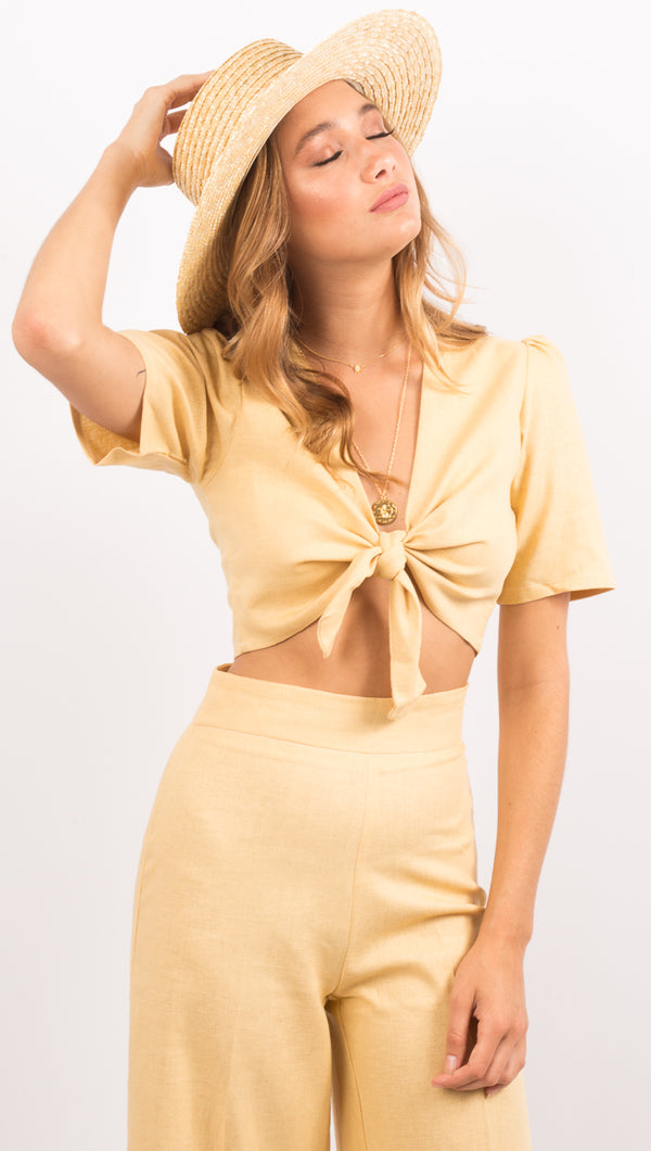 Le Jules Top - Yellow