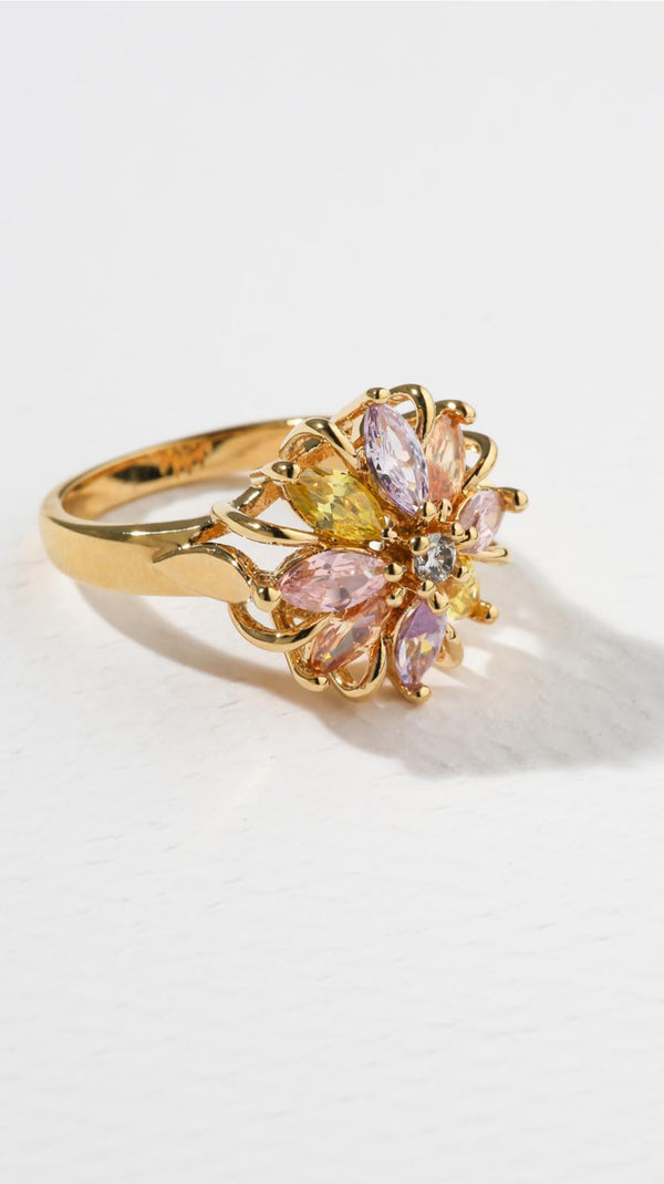 The Leila Ring - Gold