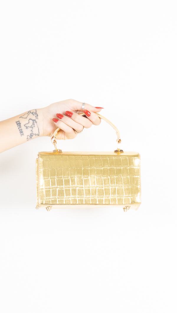 Golden Girl Mini Bag - Gold