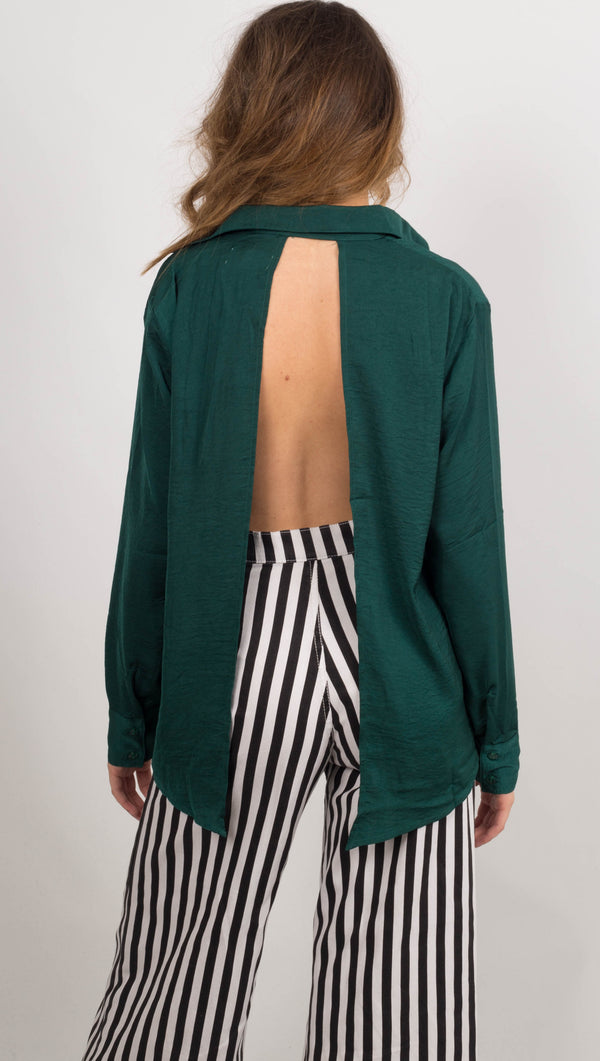 Kensington Button Down - Emerald