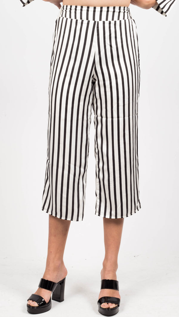 Stripe Capri Pants