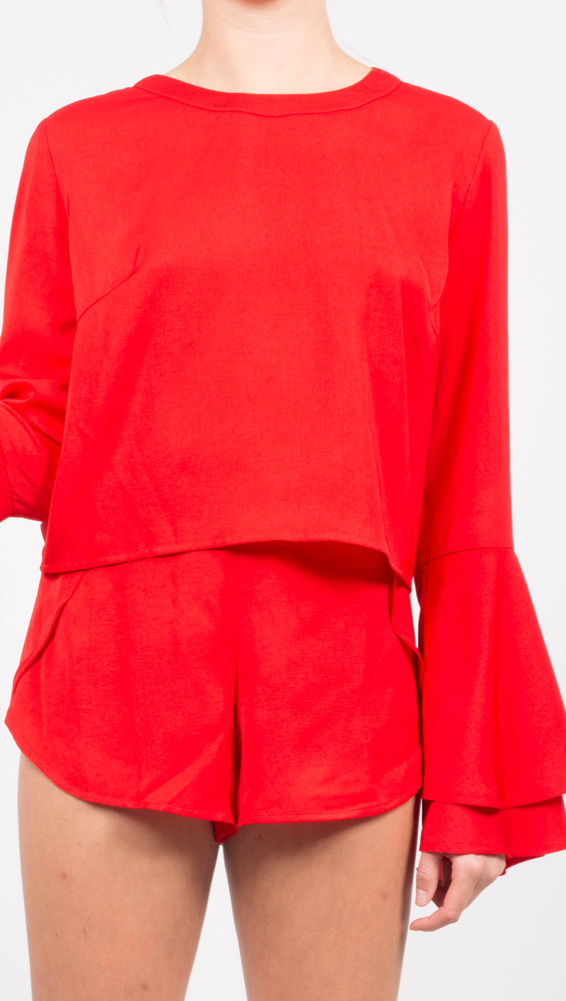 Claire Top - Red