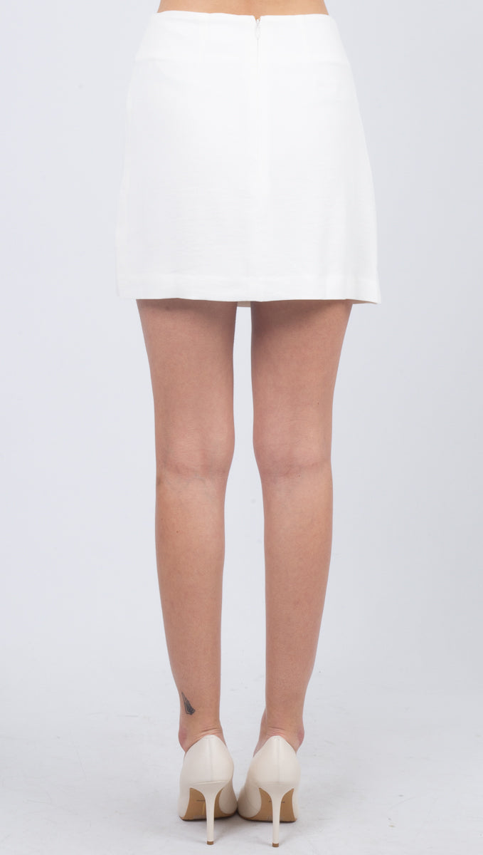 King Crimson Skirt - White