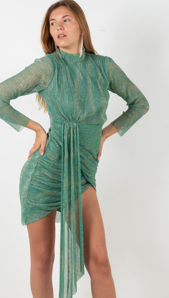 The Azalea Dress - Deep Mint