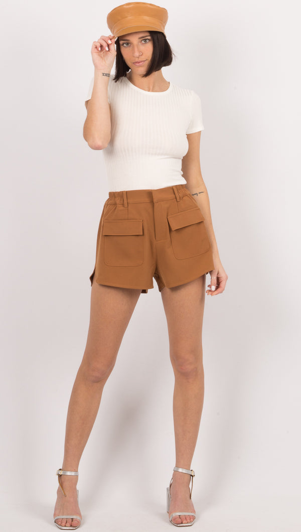 Jamie Shorts - Chestnut