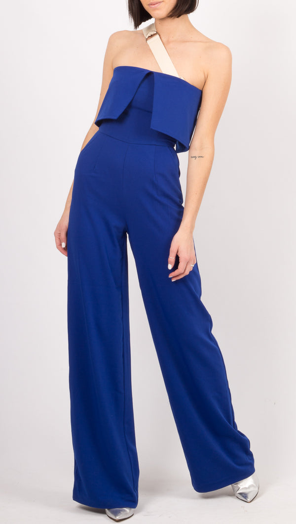 Winter Muse Blue Jumpsuit