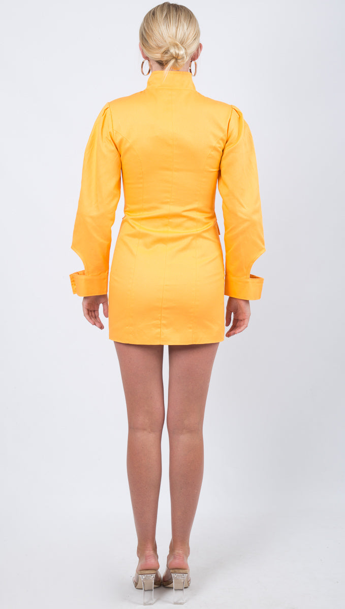 Penelope Dress - Saffron