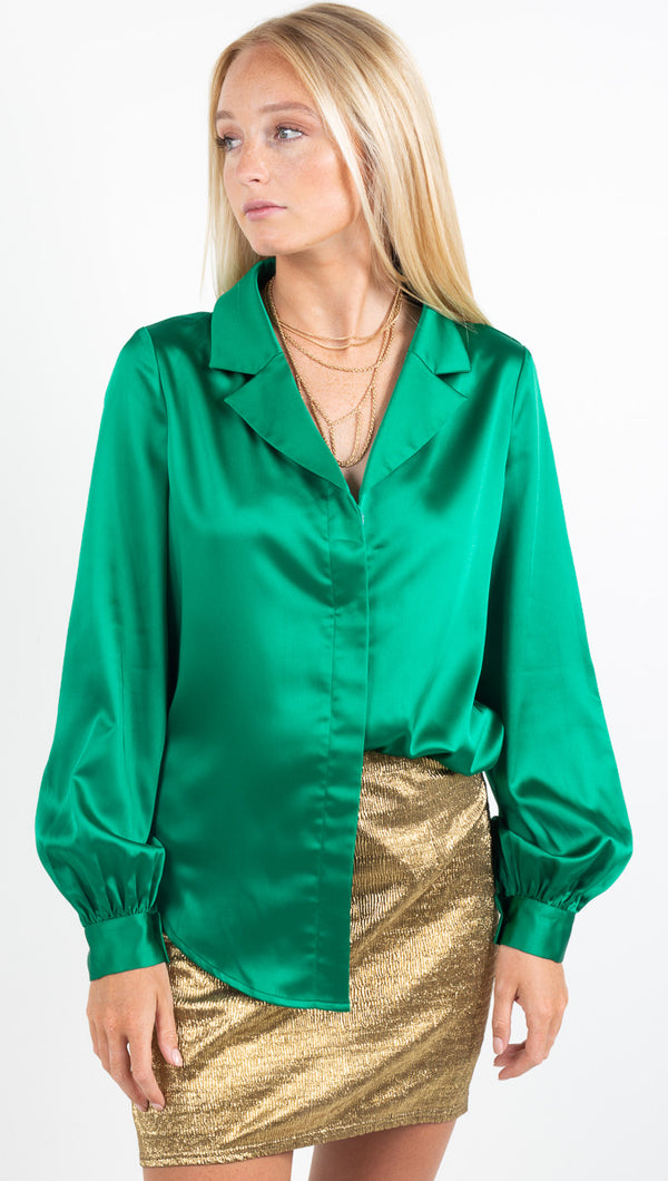 Loren Shirt - Emerald