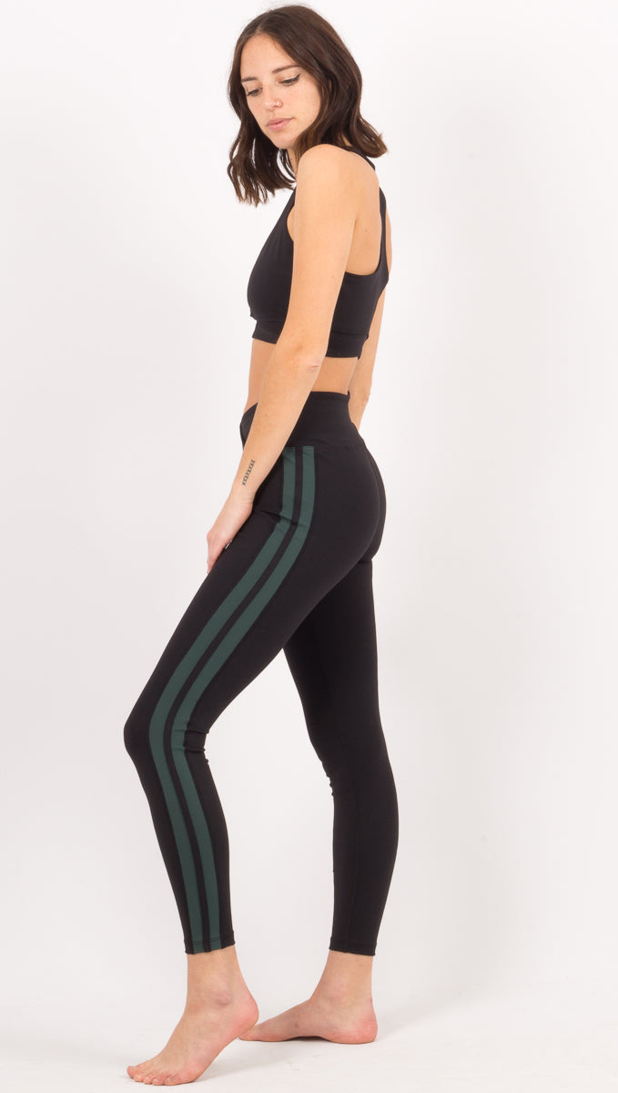 Racer Legging - Black/Forest