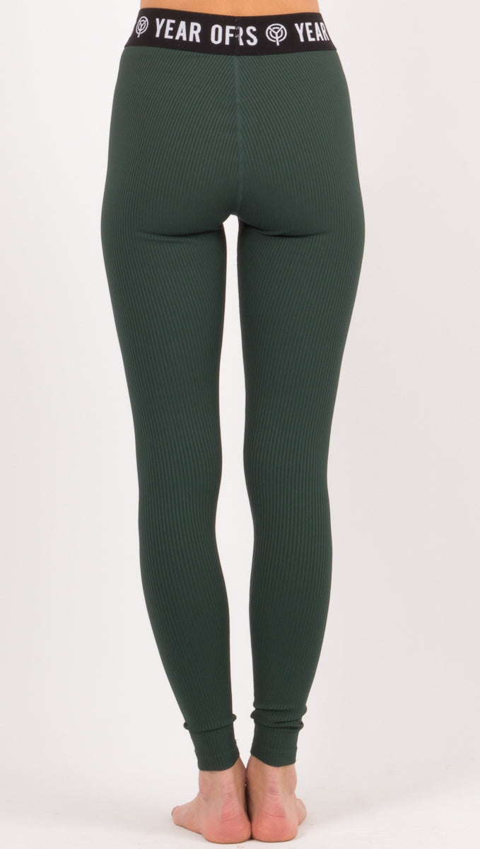 Skater Legging Rib - Forest