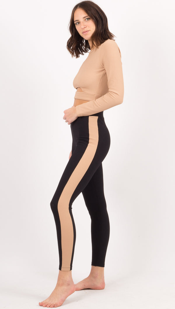 Thermal Track Legging - Black