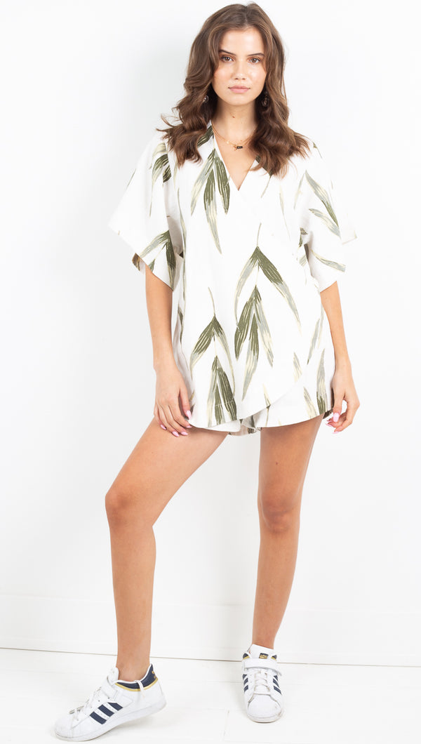Canopy Playsuit - Print