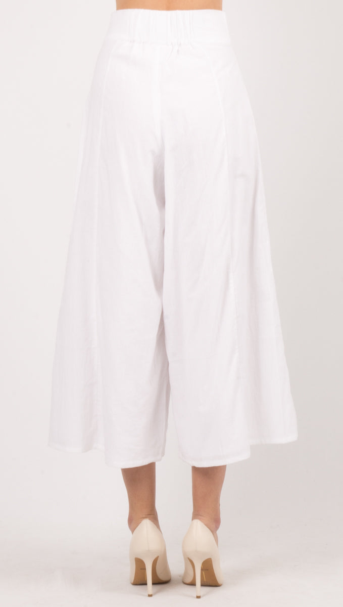 Essential Pant - White
