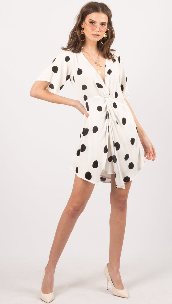Float Shirt Dress - Print