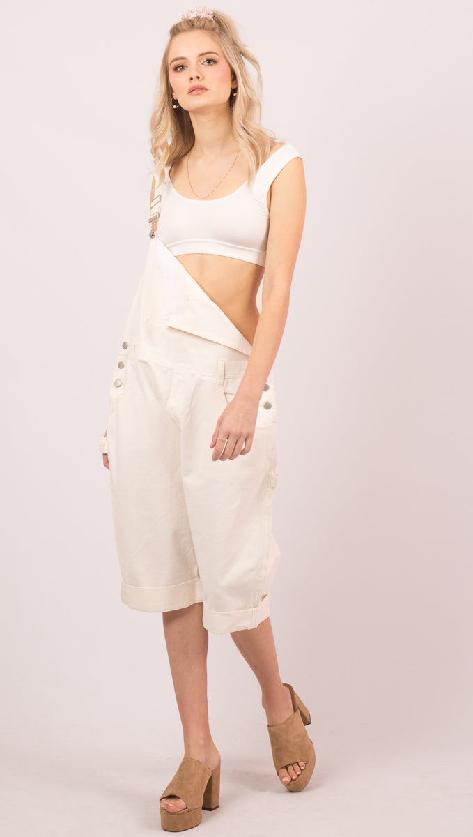 Ivory Utility Overall - Ivory