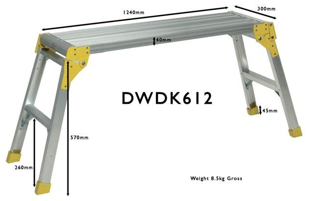 Aluminum Work Platform - Home Improvement Supplies Ltd