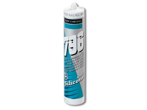 796 Dow Corning Silicone Black - Home Improvement Supplies Ltd