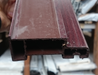 150mm Or 85mm External Plastic Window Sill Rosewood - Home Improvement Supplies Ltd