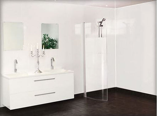 Gloss White 2.4mtrs x 600mm x 7mm Per Sheet - Home Improvement Supplies Ltd