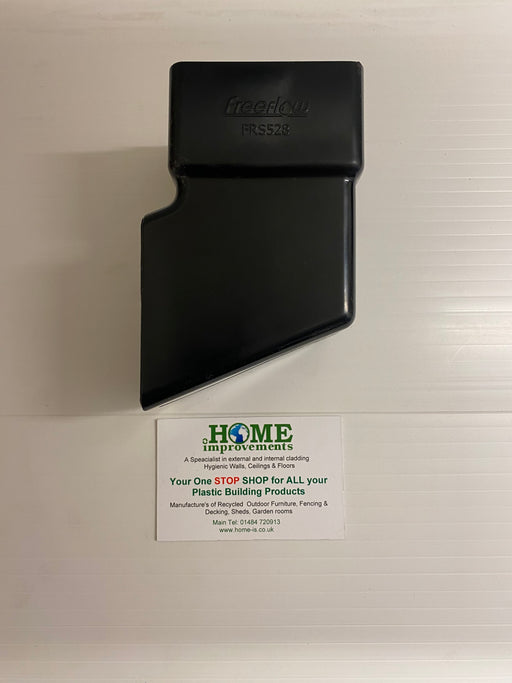 Black Square Downpipe Shoe - Home Improvement Supplies Ltd