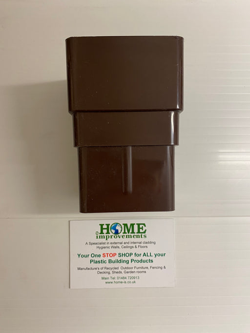 Brown Square Pipe Socket - Home Improvement Supplies Ltd